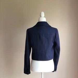 LOFT Jackets & Coats - Loft Navy Blue Double Breasted Spring Blazer